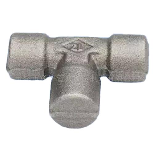 三通锻压模坯Z-TB型 AB英管外螺纹60°内锥三通
